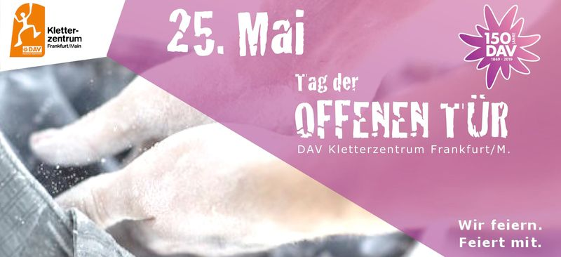 6eb21d57ca65a6 Tag der offenen Tür im DAV Kletterzentrum Frankfurt Main